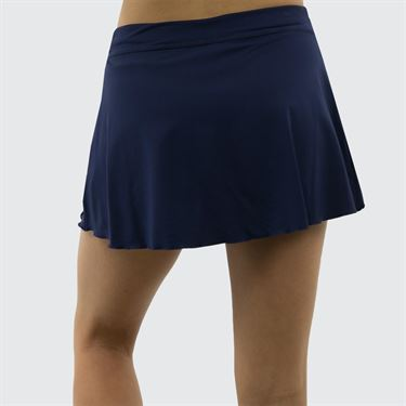 Sofibella Plus Size 13 Inch Skirt - Navy
