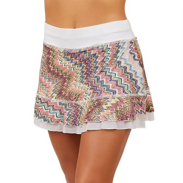 Sofibella UV 13 inch Skirt Womens Missona Print 7010 MIS