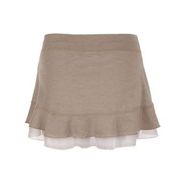 Sofibella Doubles 13 Inch Skirt - Sand Melange