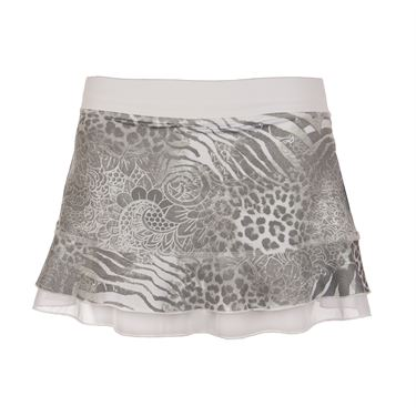 Sofibella Doubles 13 Inch Skirt - Animal Print