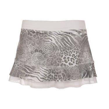 Sofibella Doubles 13 Inch Skirt - Animal Print