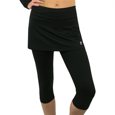 Sofibella Abaza Skirt w/Leggings - Black