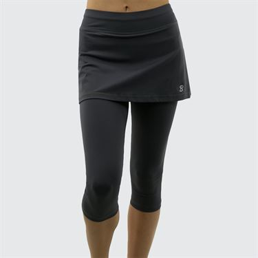 Sofibella Abaza Skirt w/Leggings - Grey