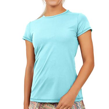 Sofibella UV Colors Short Sleeve Top Plus SizeWomens Air 7012 AIRP