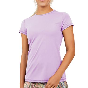 Sofibella UV Short Sleeve Top Womens Lavender 7012 LAV