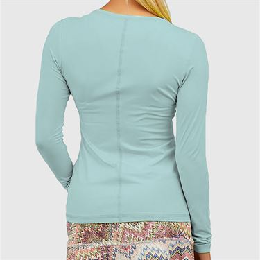 Sofibella UV Colors Long Sleeve Top Plus Size Womens Air 7013 AIRP