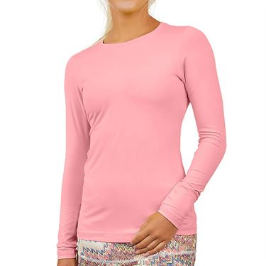 Sofibella UV Colors Long Sleeve Top - Bubble