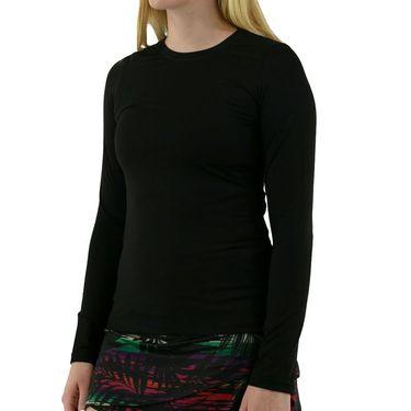 Sofibella UV Long Sleeve Top - Black