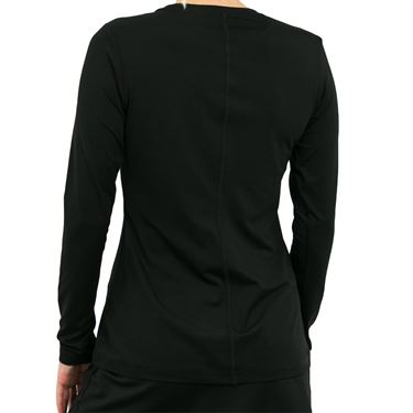 Sofibella UV Long Sleeve Top - Black