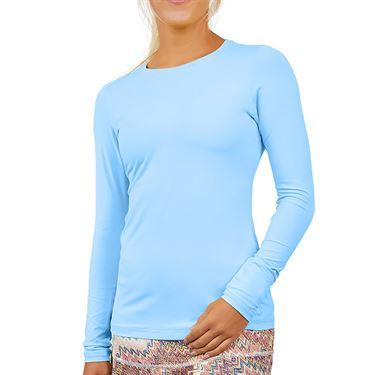 Sofibella UV Long Sleeve Top Womens Cloud 7013 CLD