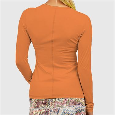 Sofibella UV Long Sleeve Top Womens Nectarine 7013 NEC