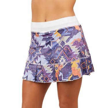 Sofibella UV 14 inch Skirt Womens Aztec Print 7016 AZT