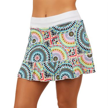 Sofibella UV 14 inch Skirt Womens Medallion Print 7016 MDP