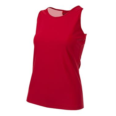 BPassionit Eclipse Open Back Tank - Venetian Red