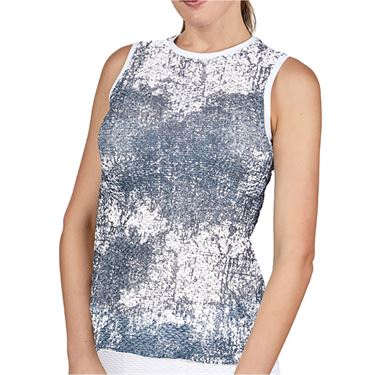 Sofibella Air Flow Sleeveless Top Womens Cloud Burst 7052 CLB