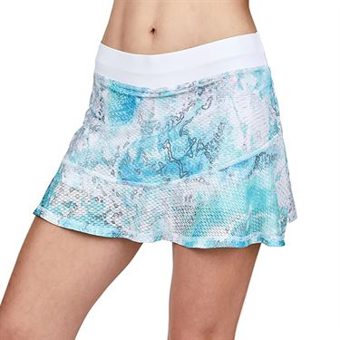Sofibella Air Flow 14 inch Skirt Womens Watercolor Print 7067 WTC
