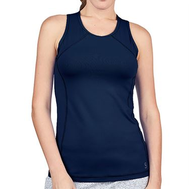 Sofibella UV Colors Tank Plus Size Womens Navy 7080 NVYP