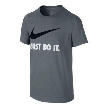 Nike Boys JDI Swoosh Training Tee - Cool Grey