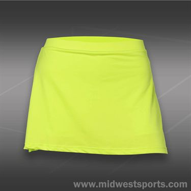 Pure Lime Modern Basic Skirt-Bright Lime