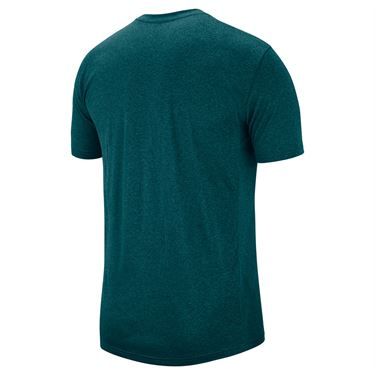 Nike Dry Legend Tee Shirt Mens Dark Teal Green/Black 718833 393