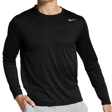 Nike Legend 2.0 Long Sleeve Crew - Black