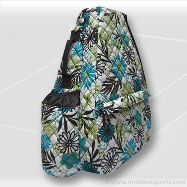Jet Pac Heirloom Quilted Sling Tennis Bag