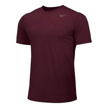 Nike Team Legend Crew - Dark Maroon/Grey