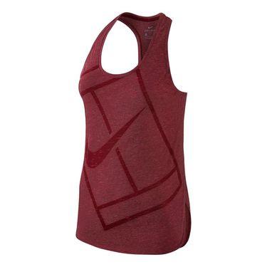 Nike Baseline Tank - Team Red/Hyper Pink