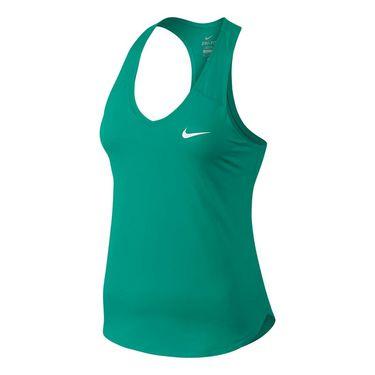 Nike Court Pure Tank - Neptune Green/White
