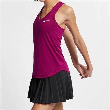 Nike Court Pure Tank - True Berry/White