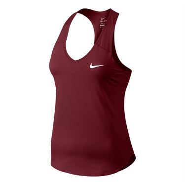 Nike Court Pure Tank - Red/White