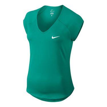 Nike Court Pure Top - Neptune Green/White