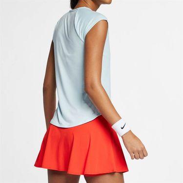 Nike Court Pure V Neck Top - Topaz Mist