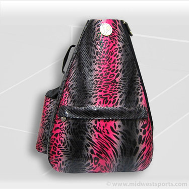 Jet Pac Leopard Tidal Crush Classic Convertible Sling Tennis Bag