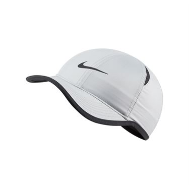 Nike Kids Featherlight Hat - Smoke Grey/Black