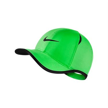 Nike Kids Aerobill Featherlight Hat - Scream Green/Black