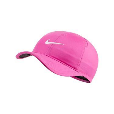 Nike Kids Featherlight Hat - Fire Pink/Black