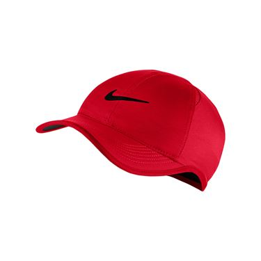 Nike Kids Featherlight Hat - University Red/Black