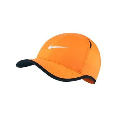 Nike Kids Featherlight Hat - Total Orange/Black/White
