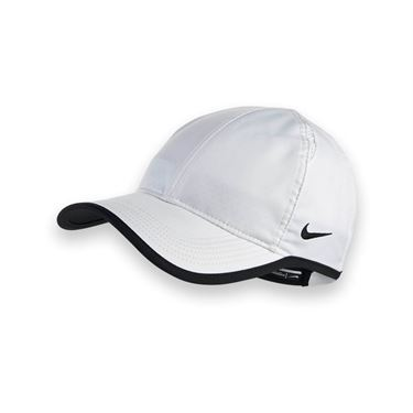 Nike Team Featherlight Hat - White/Black