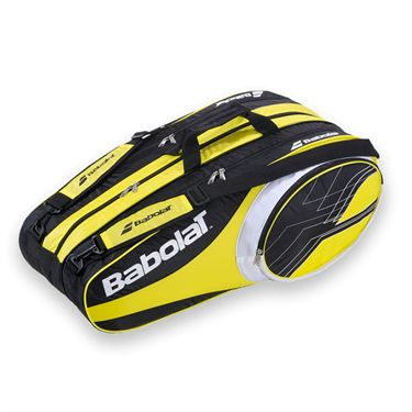 Babolat Club Line 12 Pack Yellow Tennis Bag