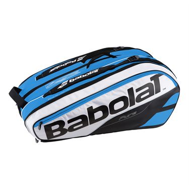 Babolat Pure Line 12 Pack Tennis Bag - Blue/White