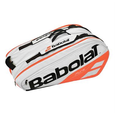 Babolat Pure Line 12 Pack Tennis Bag - White/Red