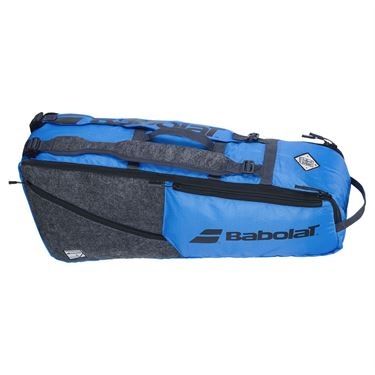 Babolat EVO 6 pack Tennis Bag - Blue/Grey