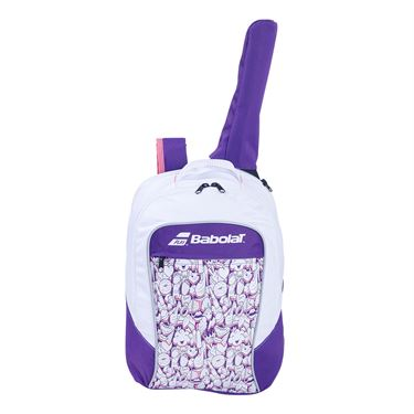 Babolat Junior Club Tennis Backpack White/Purple 753083 167MY