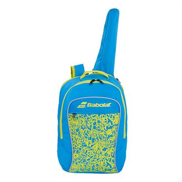 Babolat Junior Club Tennis Backpack Blue/Yellow Lime 753083 325MY