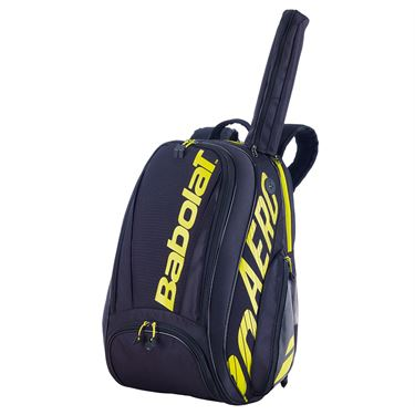 Babolat 2021 Pure Aero Backpack - Yellow/Black