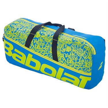 Babolat Duffle M Classic Tennis Bag Blue/Yellow Lime 758001 325