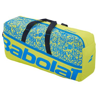 Babolat Duffle M Classic Tennis Bag Yellow Lime/Blue 758001 326