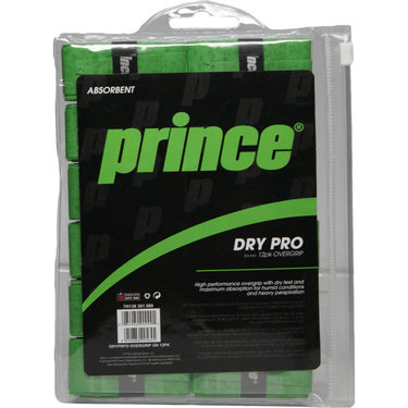 Prince Drypro Tennis Overgrip 12 Pack
